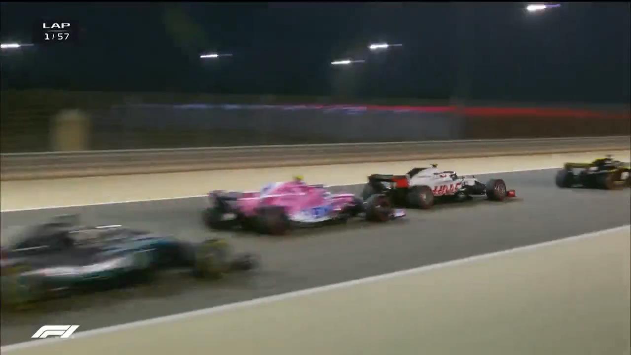 هایلایت گرند پریکس بحرین f1 2018