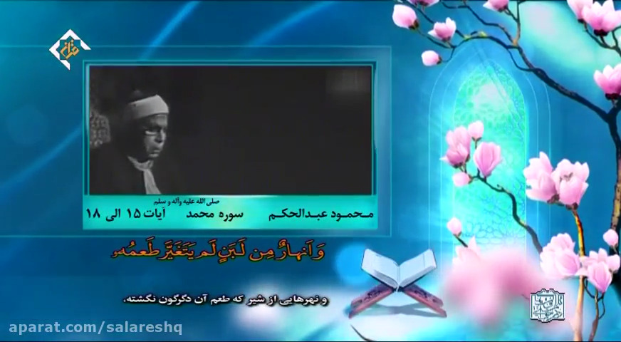 تلاوت سوره محمد ص توسط استادمحمودعبدالحکیم
