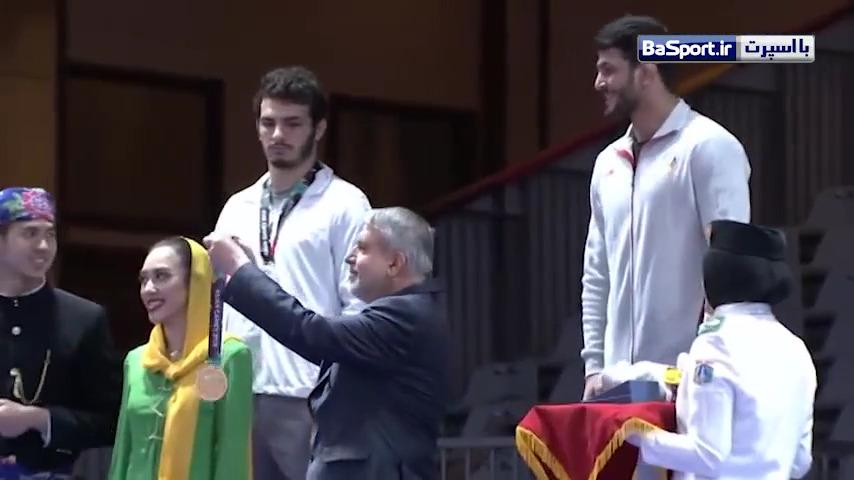 کسب اولین مدال طلای ایران توسط حسن یزدانی