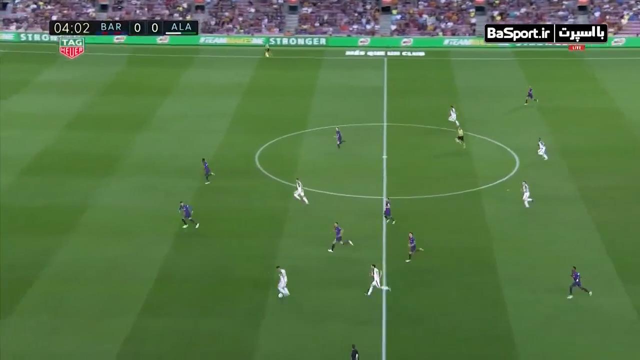 خلاصه بازی بارسلونا 3-0 آلاوس