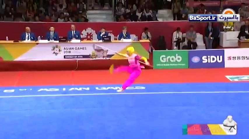 کسب نخستین مدال ووشو تالو بانوان توسط زهرا کیانی