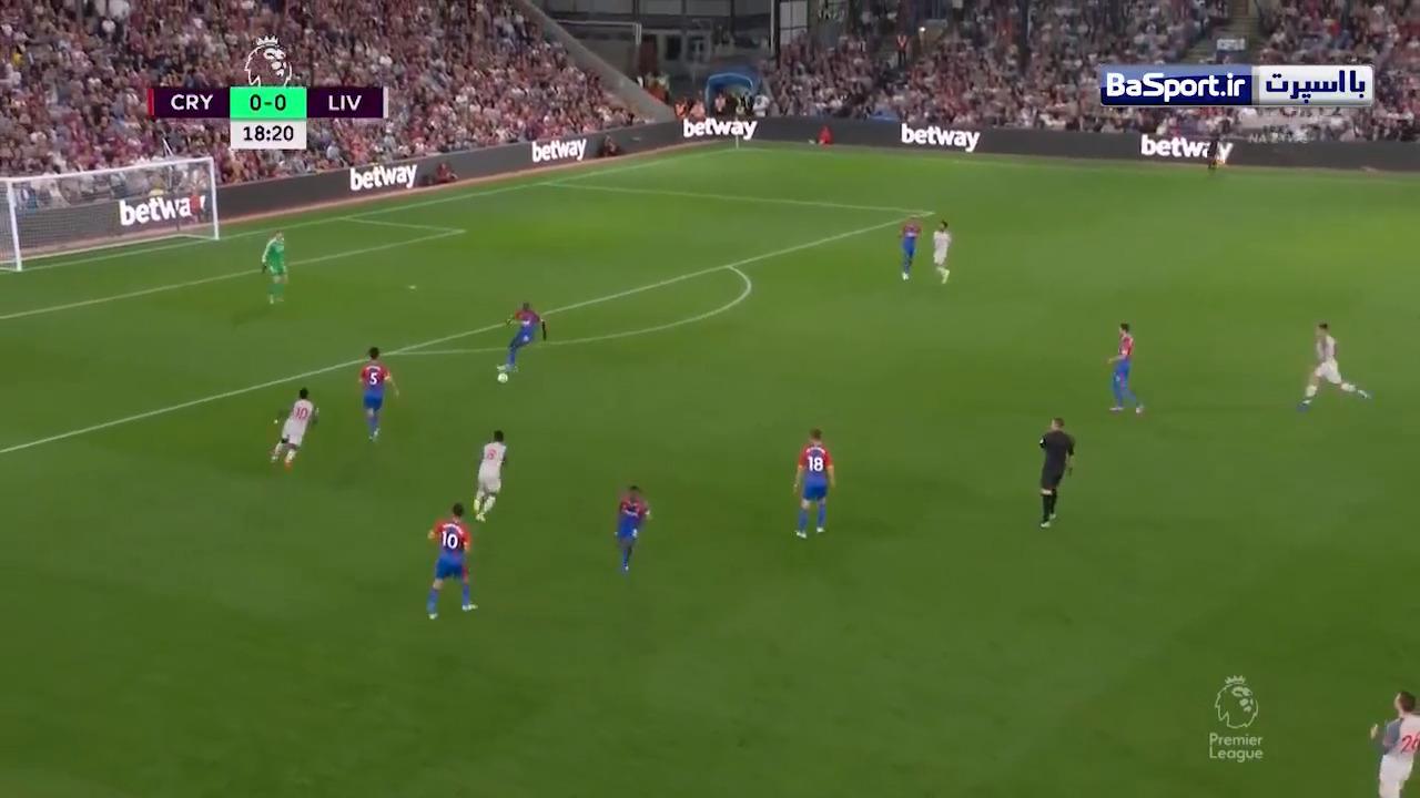خلاصه بازی کریستال پالاس 0-2 لیورپول