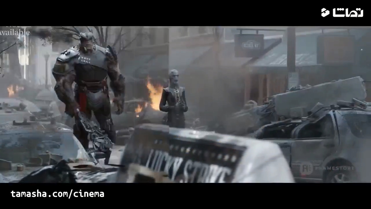 جلوه های ویژه فیلم Avengers-Infinity