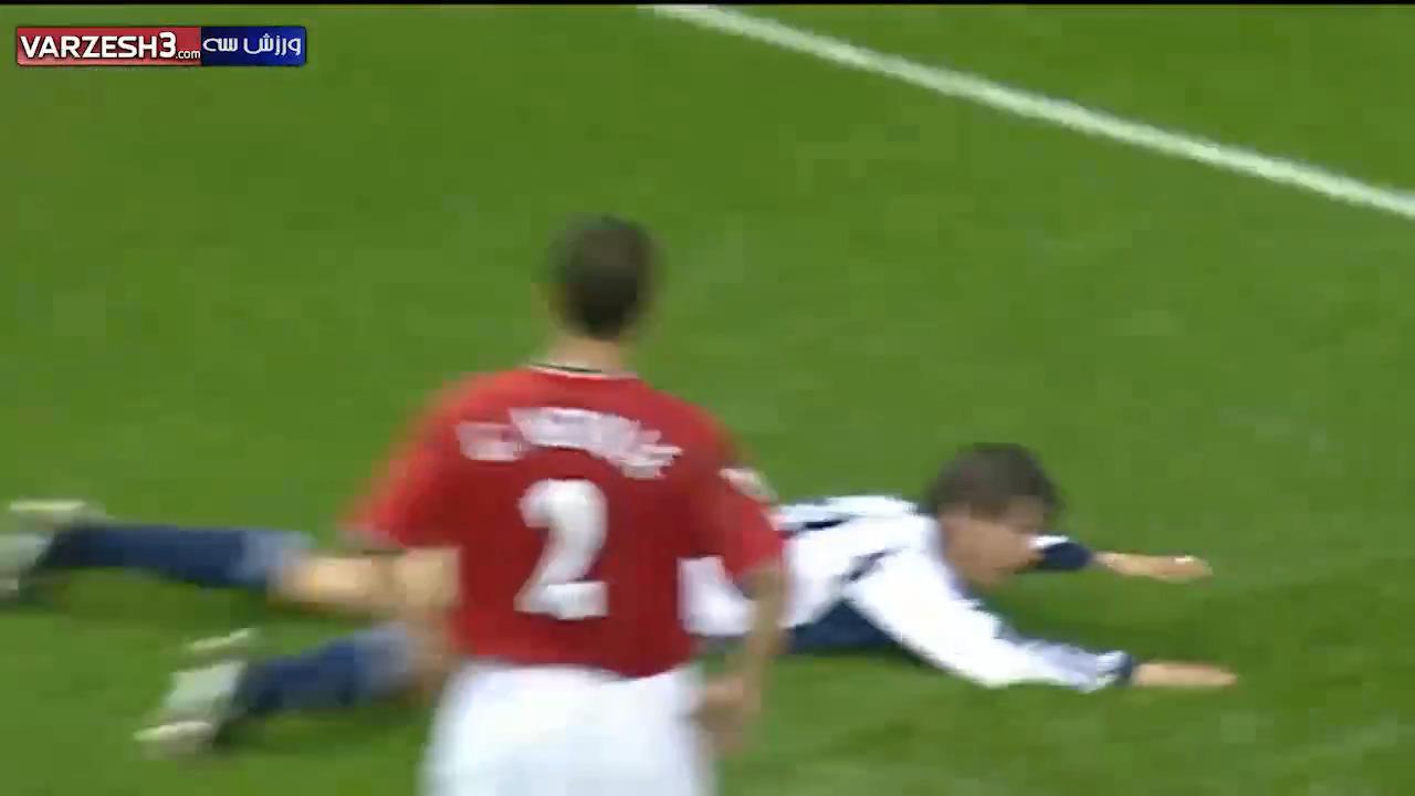 تاتنهام 3 - منچستریونایتد 5 (بازی تاریخی سال 2001)