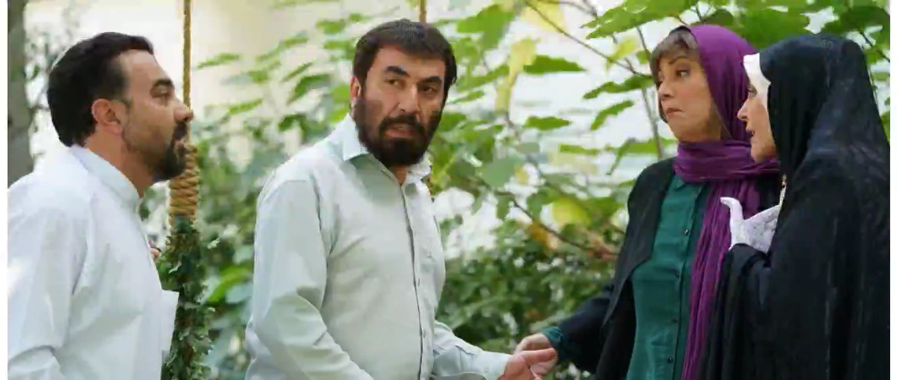 گریم عجیب سیامک انصاری در فیلم زهرمار