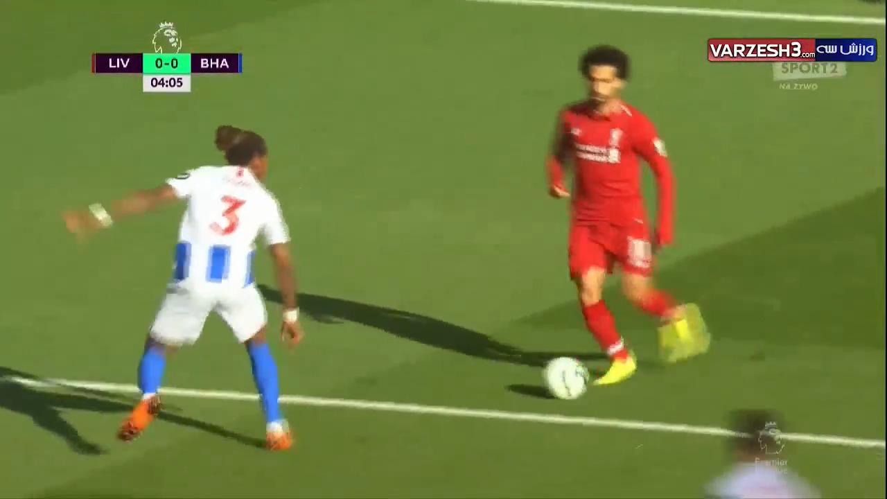 خلاصه بازی لیورپول 1 - برایتون 0