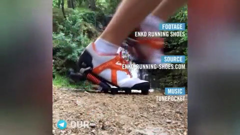 با این کفش ها روی هوا راه بروید