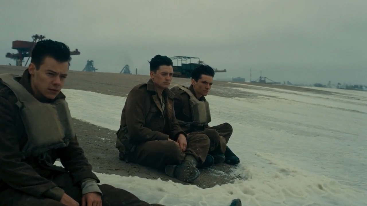 تماشای آنلاین دانکرک Dunkirk 2017 با دوبله فارسی