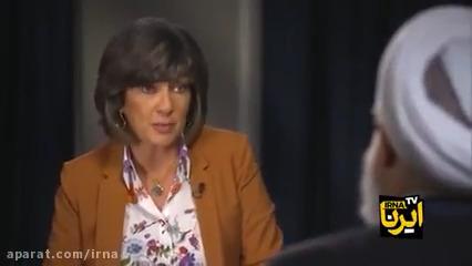 گفتگوی رئیس جمهوری با شبکه خبری «سی ان ان» آمریکا