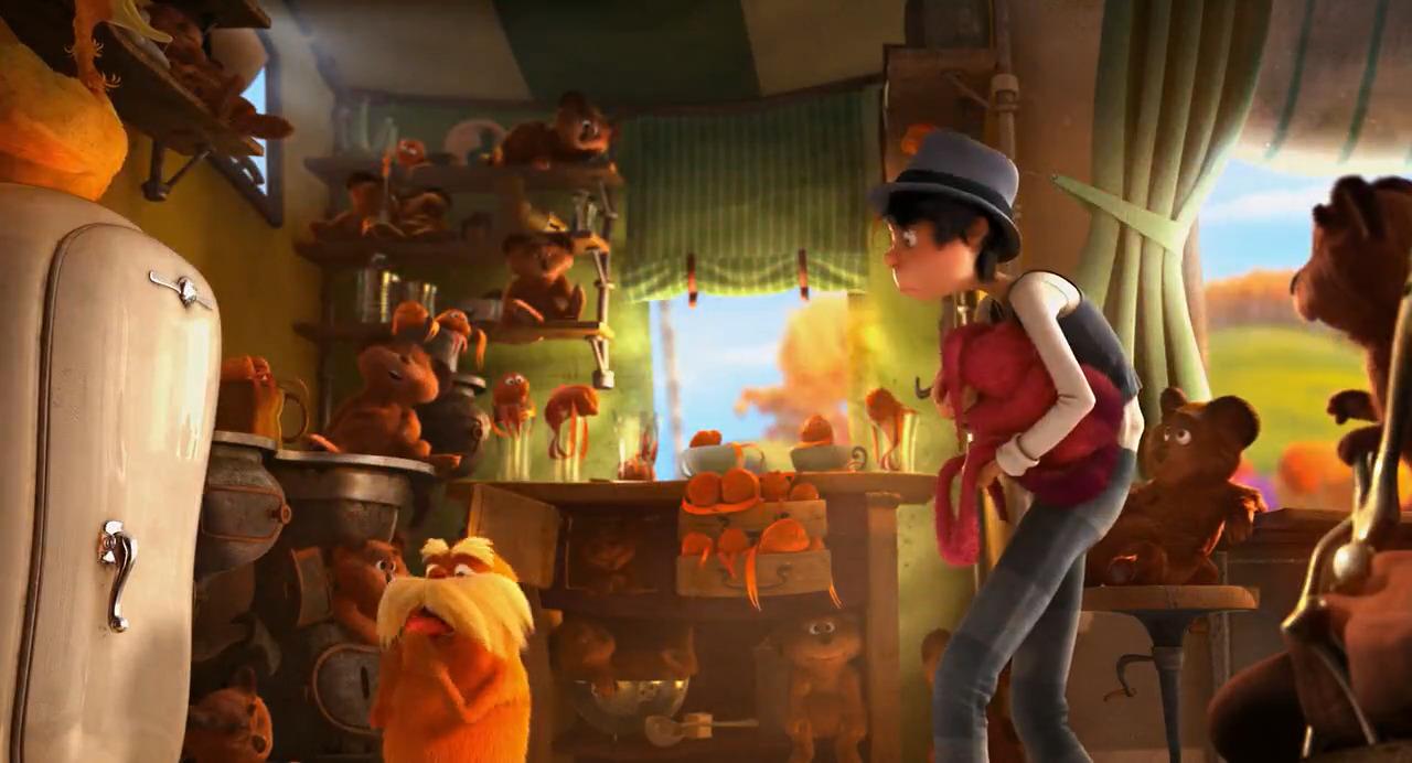 تماشای آنلاین انیمیشن The Lorax 2012 لوراکس با دوبله فارسی