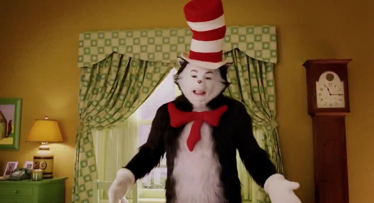تماشای آنلاین فیلم The Cat in the Hat 2003 با دوبله فارسی گربه کلاه به سر