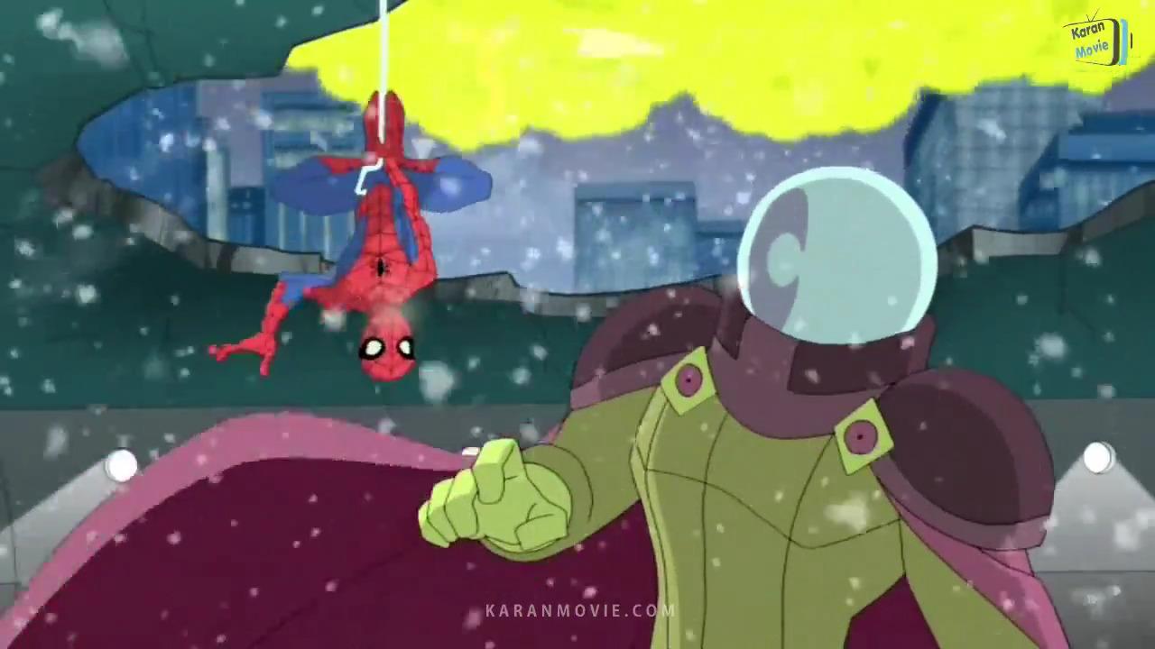 تماشای آنلاین انیمیشن مرد عنکبوتی خرابکار دوبله فارسی