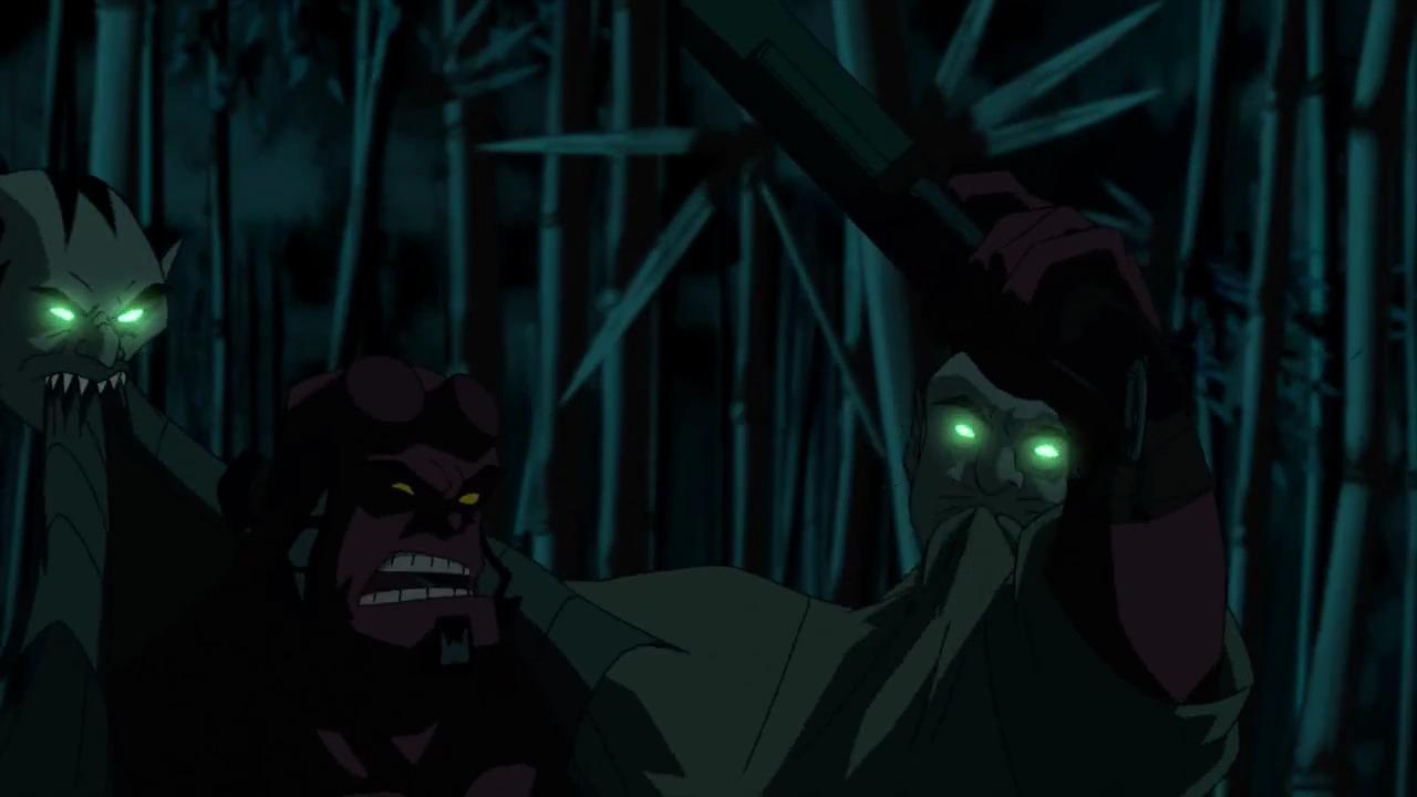 تماشای آنلاین انیمیشن پسر جهنمی: شمشیر طوفان با دوبله فارسی