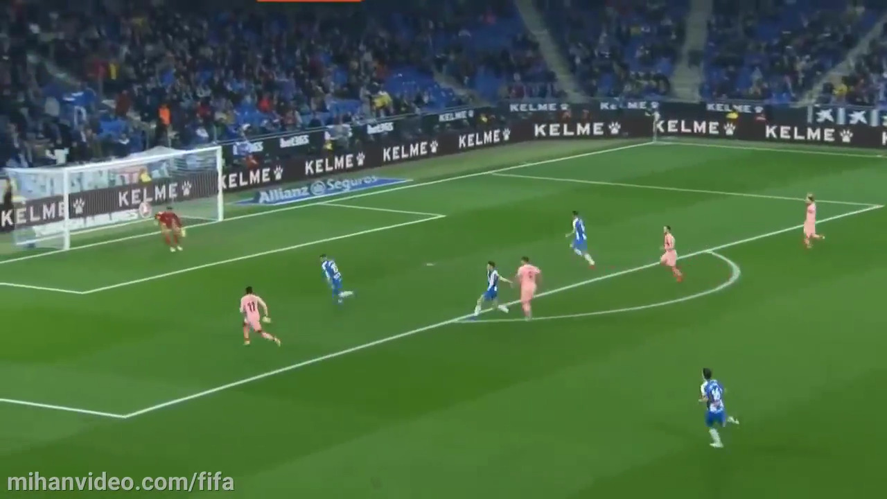 خلاصه بازی اسپانیول بارسلونا 0-4