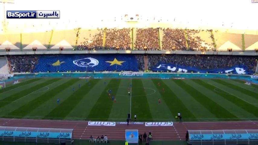 خلاصه بازی استقلال تهران 0-0 پدیده مشهد