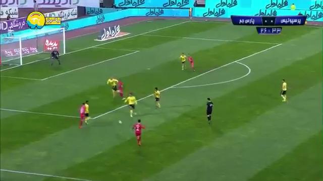 خلاصه بازی پرسپولیس 3-1 پارس جنوبی جم