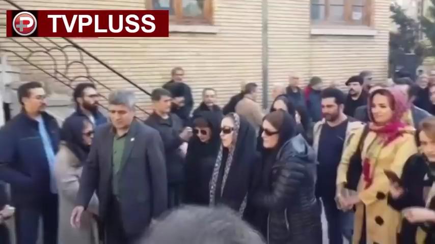 مراسم تشییع جنازه همسر زیبا بروفه