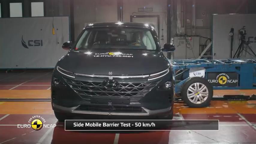 Euro NCAP Crash Hyundai NEXO - تست تصادف هیوندای