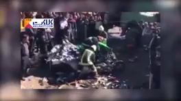 تصادف وحشتناک پراید در جاده شیراز