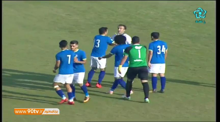 خلاصه لیگ برتر ایران: استقلال خوزستان 1-1 سپاهان