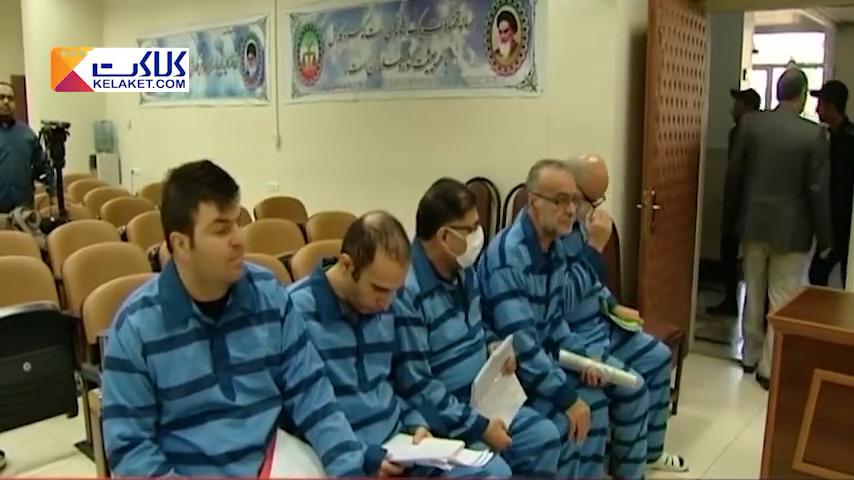 صرافان متهم به اخلال ارزی پای میز محاکمه