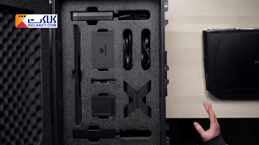 جعبه گشایی لپ تاپ غول پیکر و قدرتمند ایسر