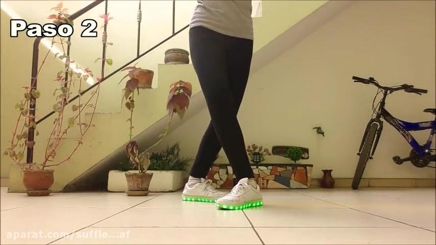 آموزش رقص شافل