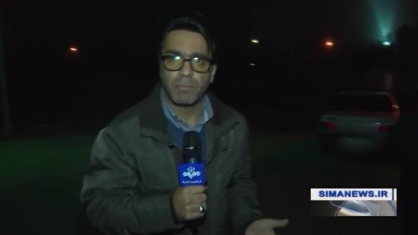 لحظاتی پیش از اعدام حمیدرضا باقری درمنی