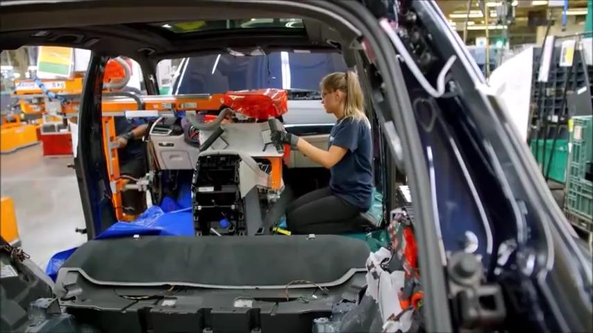 مراحل ساخت BMW X5 مدل 2019
