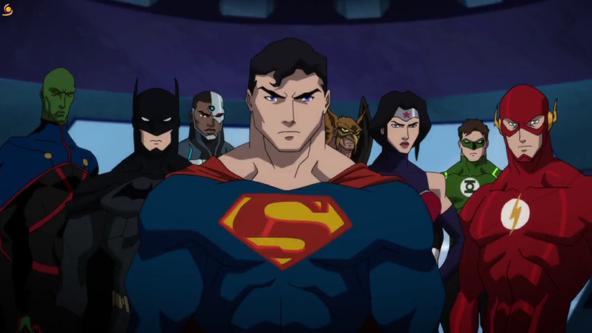 تماشای آنلاین انیمیشن Reign of the Supermen 2019 با زیرنویس فارسی