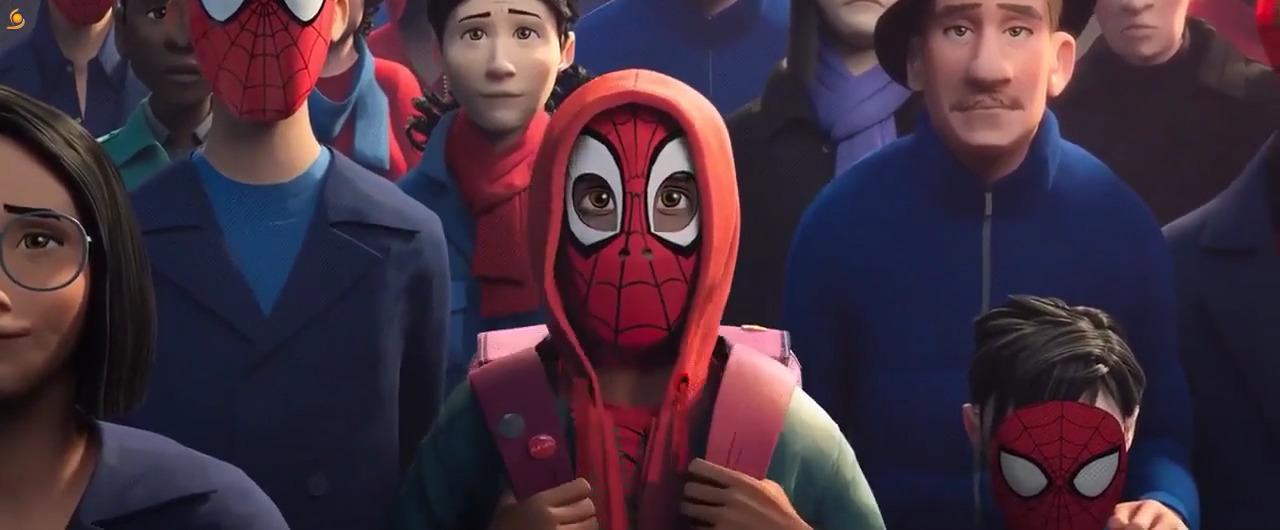 تماشای آنلاین انیمیشن Spider-Man Into The Spider-Verse 2018 با زیرنویس فارسی